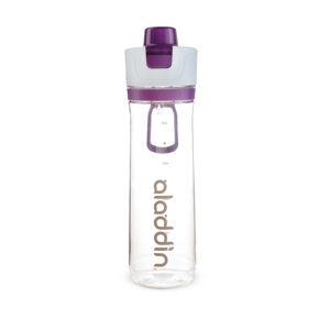 ALADDIN sportovní láhev na vodu s počítadlem 800ml fialová