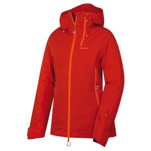 Husky  Gambola L XL, cihlová Dámská lyžařská plněná bunda