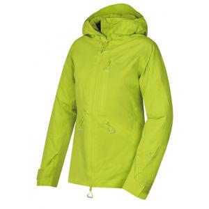 Husky  Gomez l XL, výrazně zelená Dámská lyžařská bunda