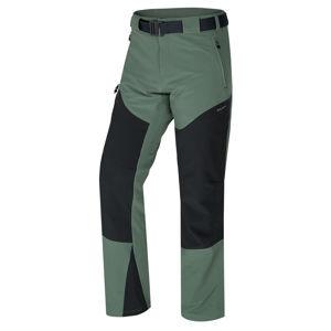 Husky   Keiry M XL, sv. šedozelená Pánské outdoor kalhoty