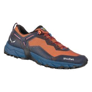 Salewa  ULTRA TRAIN 3 UK 8, Dark Denim/Red Orange Pánské boty