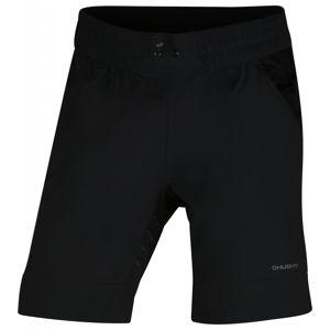 Husky  Speedy M M, černá Pánské sport šortky