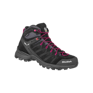 Salewa  ALP MATE MID WP UK 7, Black Out/Virtual Pink Dámské boty